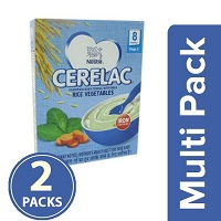 Nestle Cerelac Rice Vegetables Stage 2 Multi Pack
