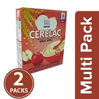 Nestle Cerelac Wheat Apple Stage 1 Multi Pack