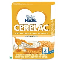 Nestle Cerelac Wheat Honey Stage 2 Single